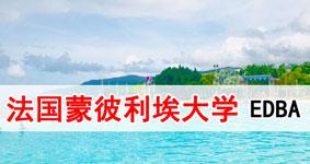 2019法国蒙彼利埃大学工商管理EDBA学位班(北京、上海)